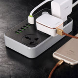 6 Port USB with 3 Power Socket Points Charging Station