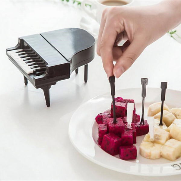 Piano fruit fork