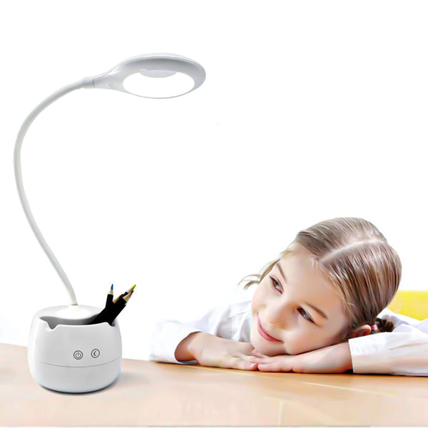 Reading Lamp with Pen and Mobile Holder