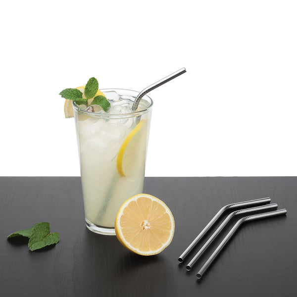 Stainless Steel Straws - Set of 5