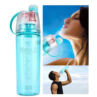 Sporty mist water bottle