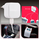2 in 1 Car and Home Charger