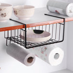Under Shelf Storage Rack with Hangers