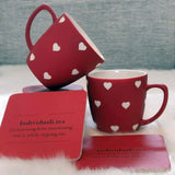 Valentines Unbreakable Tea Cups - Set of 2