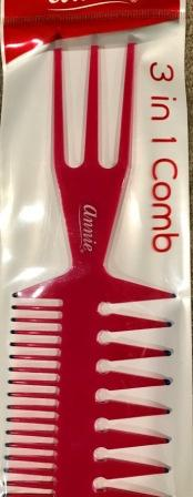3 in 1 natural hair comb