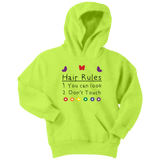 Hair Rules Hoodie (Youth Sizes)