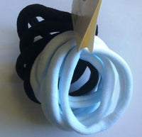 Black and White Large Hair Bands