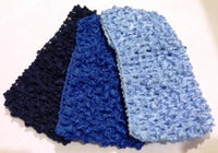 Shades of BlueBallerina Headbands(Qty3)
