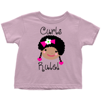 Curls Rule! Shirt (Toddler Sizes)
