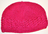 Dark Pink Knit Cap
