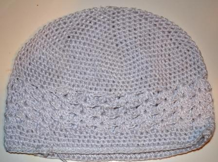 White Knit Cap