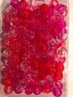 Medium Shades of Pink Hair Beads