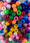 240pk Multi Color Medium Hair Beads