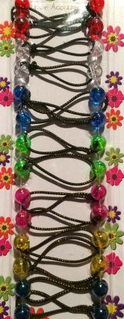 Mini Hair Ballies - Multi Color Translucent