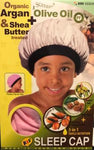Kids Olive Oil Shea Butter Sleeping Cap