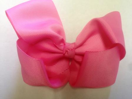 Pink Hair Bow - Large