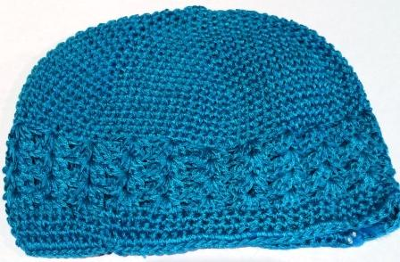 Turquoise Knit Cap