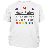 Hair Rules T-Shirt (Youth Sizes)