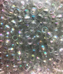360pk - Opaque Clear Hair Beads (Crystal)