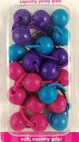 Assorted Color Gimme Squishy pony pals ballies (Purple,pink,blue)