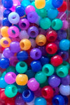 medium chubby sherbet hair beads