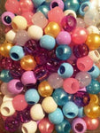 240PK Medium Wedding Mix Hair beads