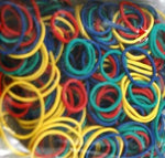 Multi Color Assorted Size Elastics