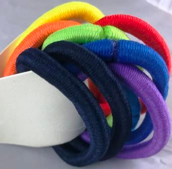 Multicolor Thick Elastics Bands