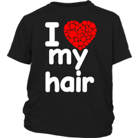 I Love My Hair Shirt (Youth Sizes)