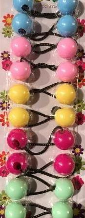 pastel hair ballies, hair knockers, hair balls