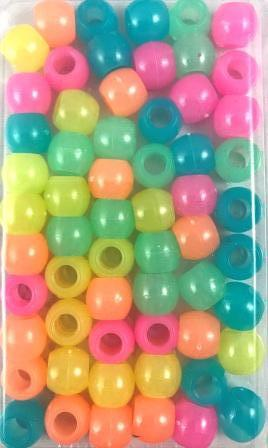 sherbet color medium hair beads