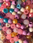 200PK Wedding Mix Medium Hair Beads