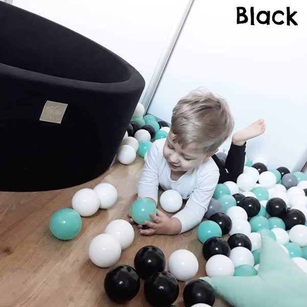 Handmade Soft Ball Pit with BONUS 200 balls - 30cm series (5colours)