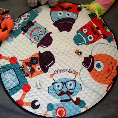 Beautiful Baby & Kids Fun Playmat Circle 150cm - Mr Robot
