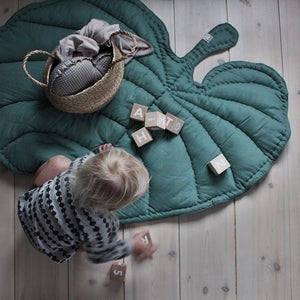 Nofred Leaf Blanket - Emerald