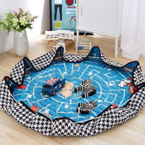 Beautiful Baby & Kids Fun Playmat Circle 150cm - Space AstroBears