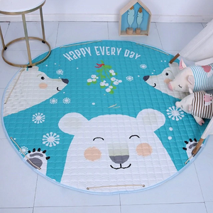 Beautiful Baby & Kids Fun Playmat Circle 150cm - Happy Bear