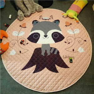 Beautiful Baby & Kids Fun Playmat Circle 150cm - Rosie the Raccoon