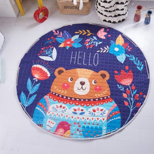 Beautiful Baby & Kids Fun Playmat Circle 150cm - Bjorn the Bear