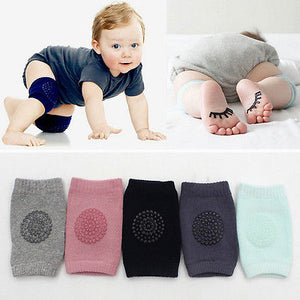Colourful Pair of Baby Knee Protectors (5colours)
