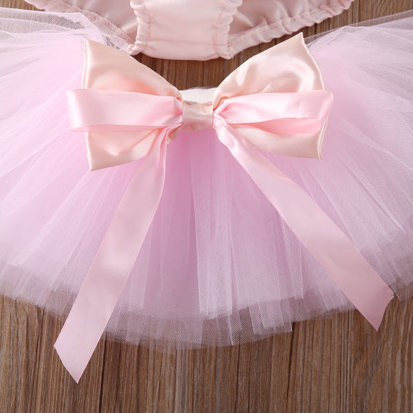 Beautiful Ballerina Onesie & Tutu Dress Outfit