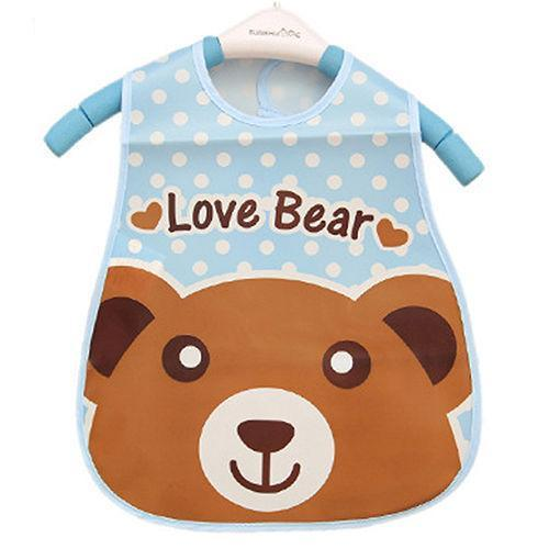 Fun Character Waterproof Bibs