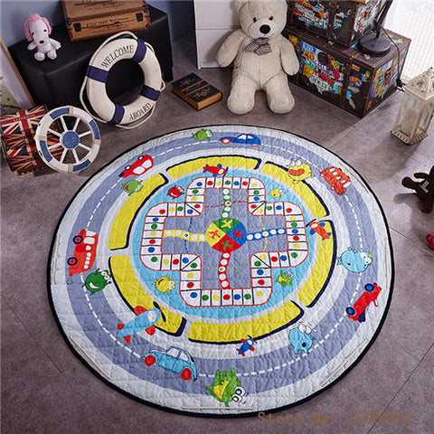 Beautiful Baby & Kids Fun Playmat Circle 150cm - Race Track
