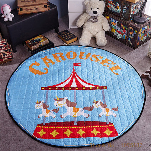 Beautiful Baby & Kids Fun Playmat Circle 150cm - Carousel