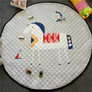 Beautiful Baby & Kids Fun Playmat Circle 150cm - Holly the Horse