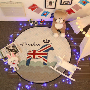 Beautiful Baby & Kids Fun Playmat Circle 150cm - Harry the Horse