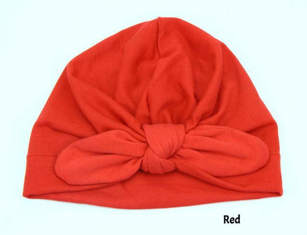 Soft & Super Stylish Turban Boho Bow Knot Beanie (10colours)