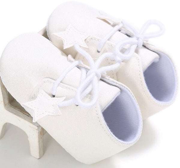 SuperStar Lace Up Booties Shoes (5colours)