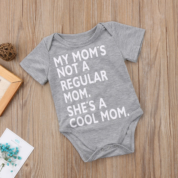 """My Mom's a Cool Mom"" Onesie"
