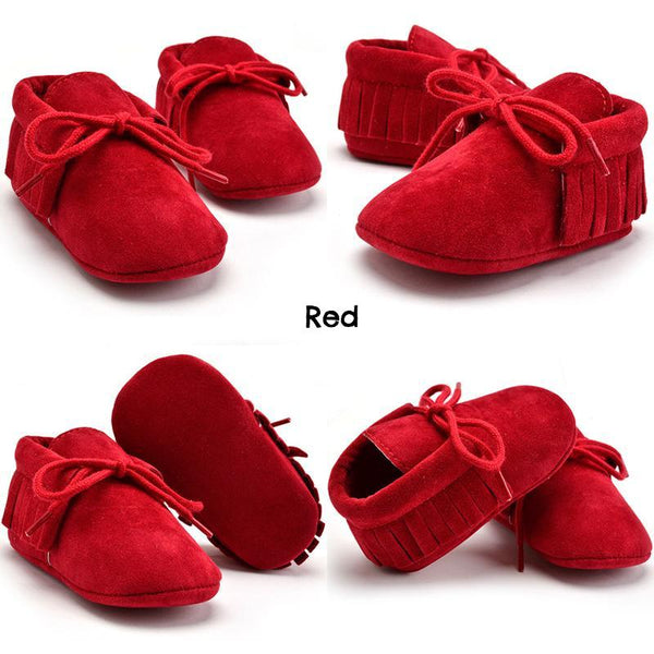Baby Moccasin Style Shoes (11colours)